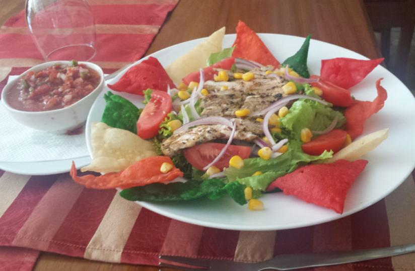 The salad can be served as a main course as it is filling.(Patrick Buchana)