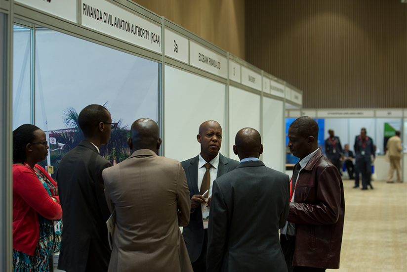1487891316Colonel-Silas-Udahemuka-Director-General,-Rwanda-Civil-Aviation-Authority-speaks-to-delegates-at-the-Aviation-Expo.-T