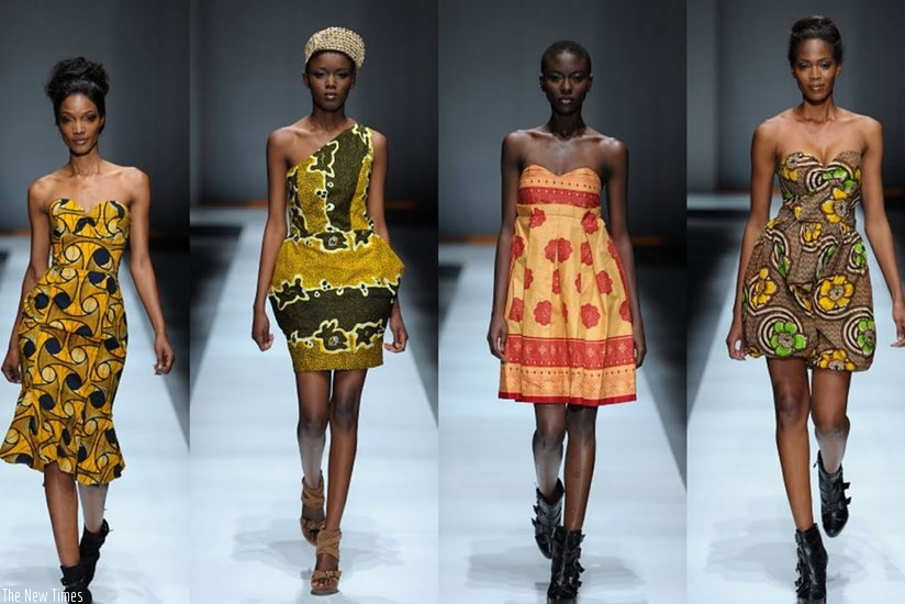 Female models on the run way. Parents have a big role to play in allowing their children pick a career of their own choice. (Net photo)