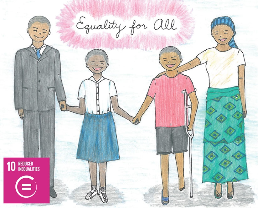 Give us your best examples of what equality means to you! How can you help everyone be equal?