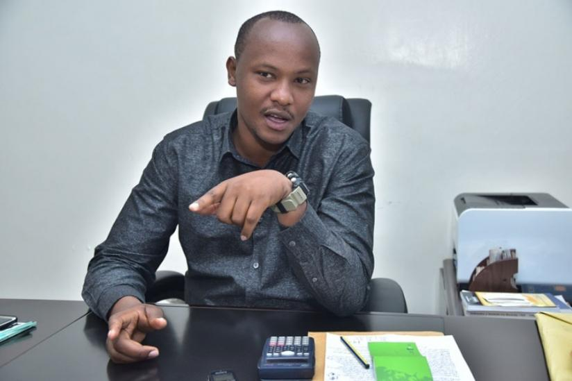 Charles Kakooza Nkuriza Popularly known as KNC is a journalist, singer and Entrepreneur.