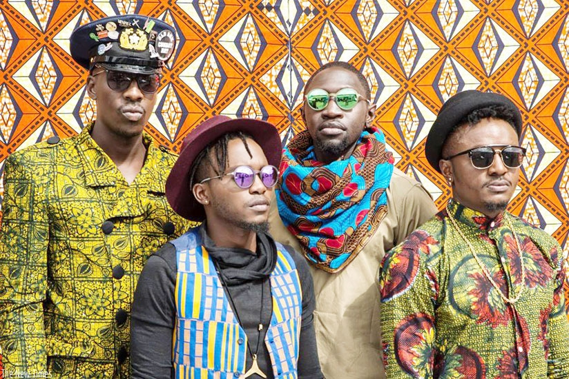 Kenyan afro-pop band Sauti Sol will be performing in the country on New Year's Eve. (Net)