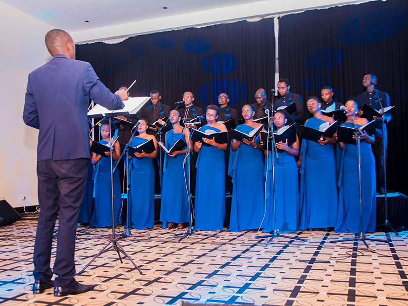 The choir is composed of women and men from different choirs across the country. / Courtesy photos