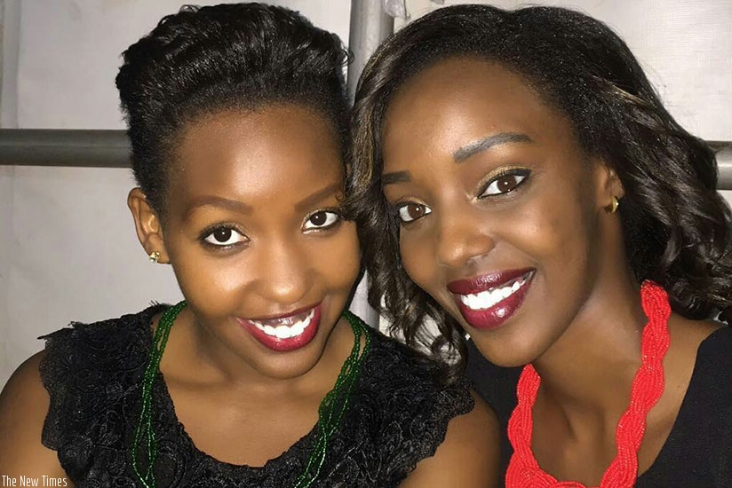 Sandra Teta and Vanessa Uwase
