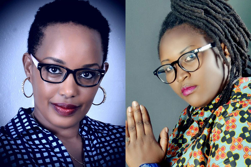 It's the first time Diana Kamugisha (L) and The Pink have worked on a song together. / Courtesy