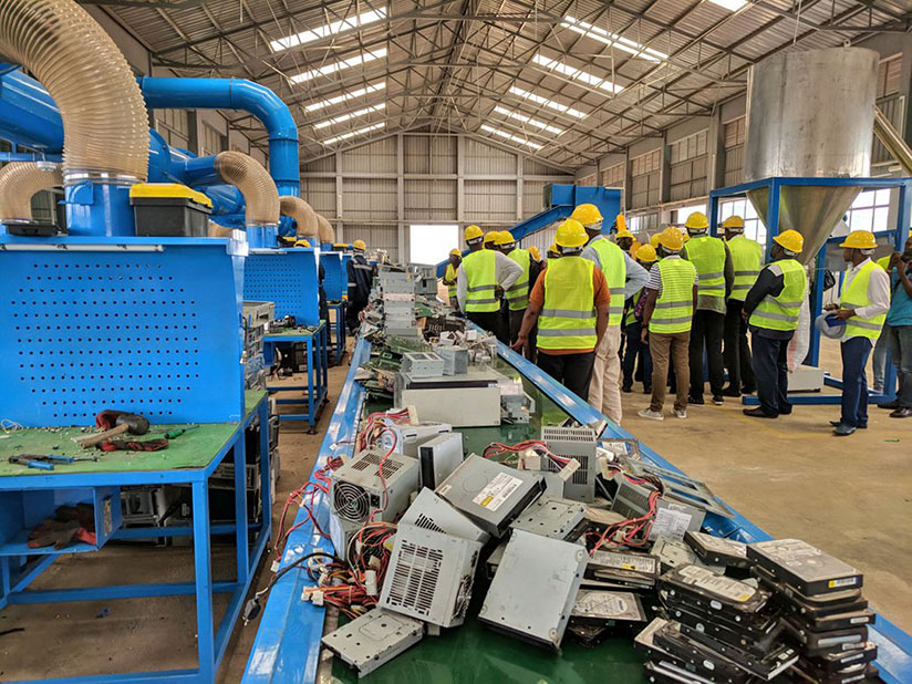 Over 15 types of electronic and electrical equipment (EEE) will be dismantled and recycled to generate other valuable materials. /  Courtesy