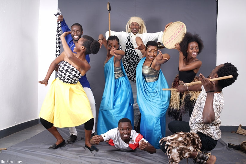 Performers  in rehearsals ahead of Sunday's Christian Dance Festival.  (Courtesy photos)