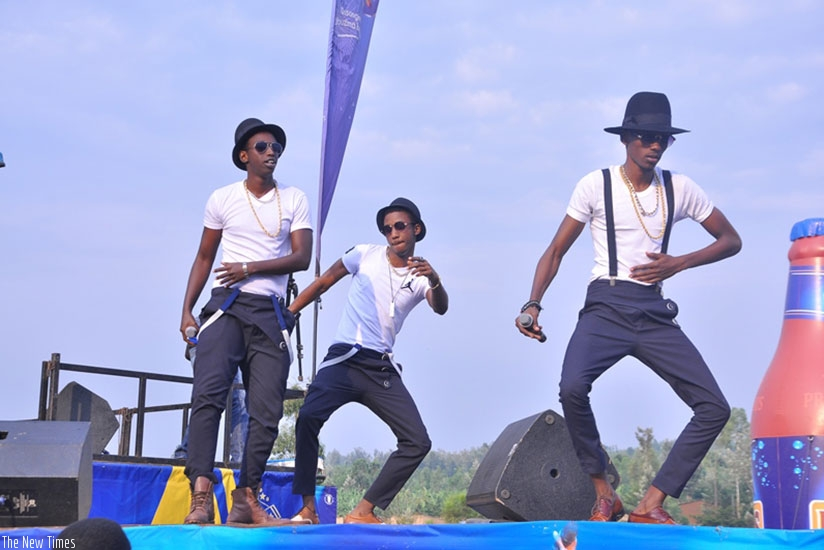 The group is known for its virtuous dance moves. Courtesy.
