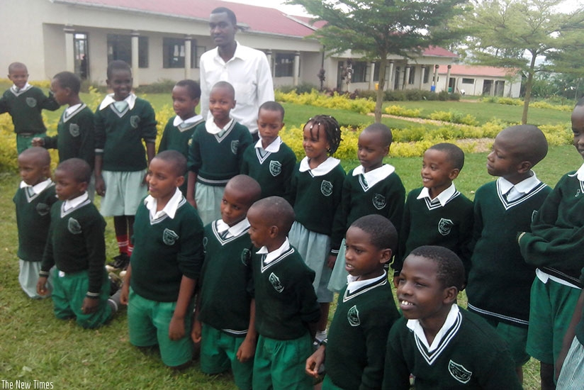 A school uniform promotes equality at school and makes learners appreciate each other. / Dennis Agaba.