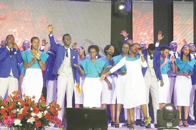 Healing Worship succeeded in delivering a well-rounded and impressive performance during its album launch.  Below, different choirs performed at the event.