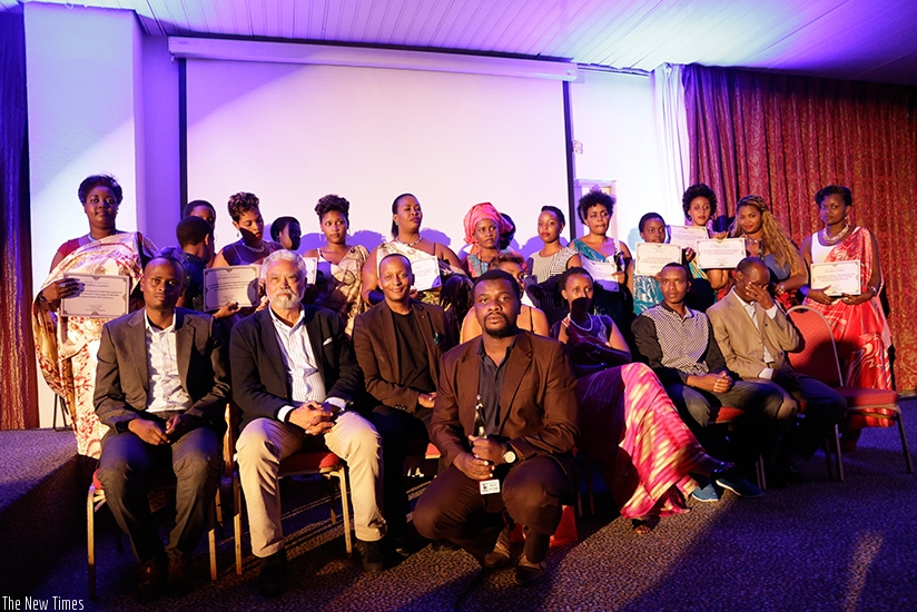 Some of the filmmakers who attended last year's festival./Courtesy photo