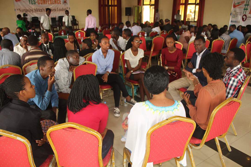University students attend a career guidance session. Organisations should provide diverse training to interns to enable them fit in the labour market.  (Lydia Atieno)