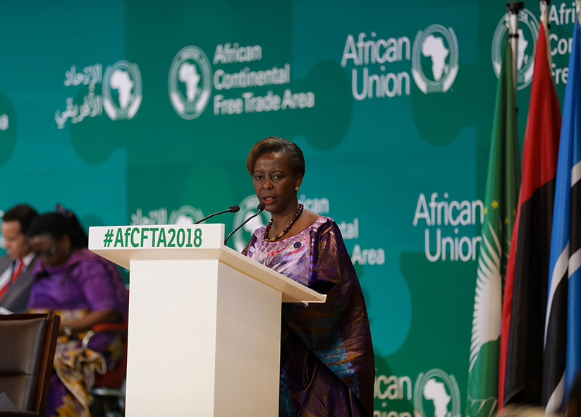 1521500897Foreign-Affairs-Minister,-Louise-Mushikiwabo,-and-the-Chairperson-of-the-Council-of-Minister-gives-her-remarks--