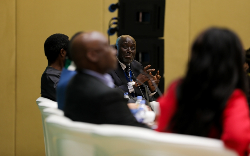 Ali Mufuruki, Tanzanian businessman says that the Continental Free Trade Area will open trade borders for Africans. Timothy Kisambira