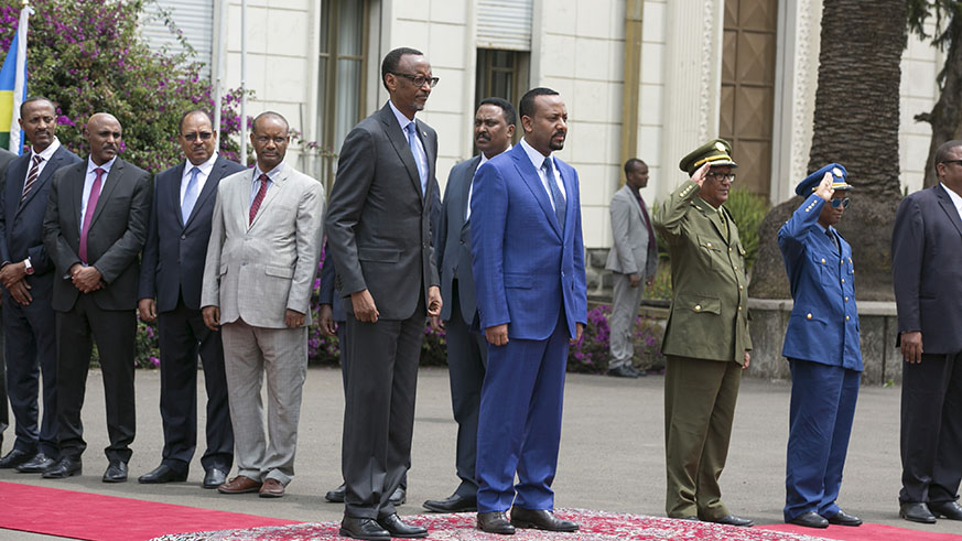 President Kagame in Ethiopia for State Visit