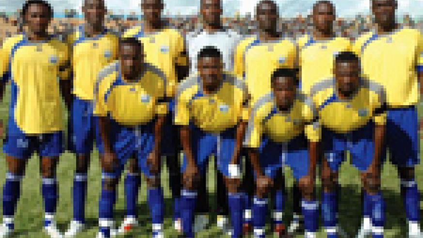 The Amavubi Stars will be lining up against Uganda in this year's Cecafa Senior Challenge Cup. (File photo)