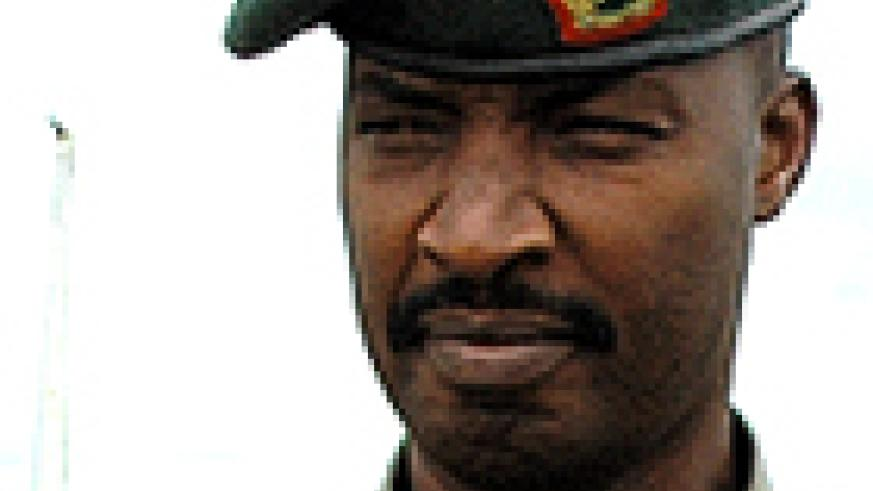 Chief of Staff (Land forces), Lt Gen Charles Kayonga