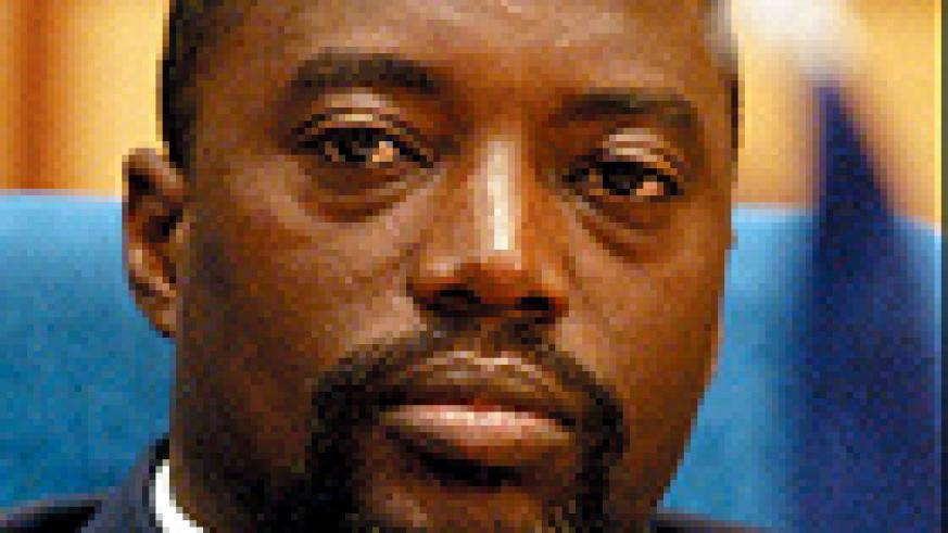 STAYED AWAY: President Joseph Kabila.