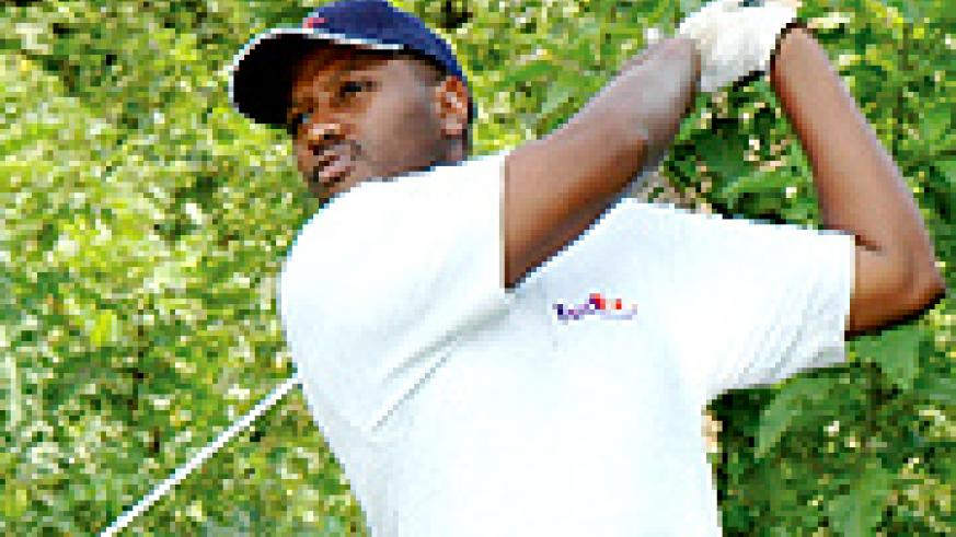 YELLO ON THE GREENS: A golfer prepares to take a swing. More of this, is expected at KGC today during the MTN Open.