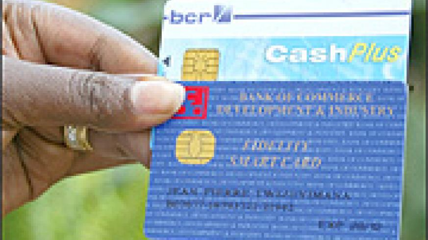 Customers will get ATM cards within two days.