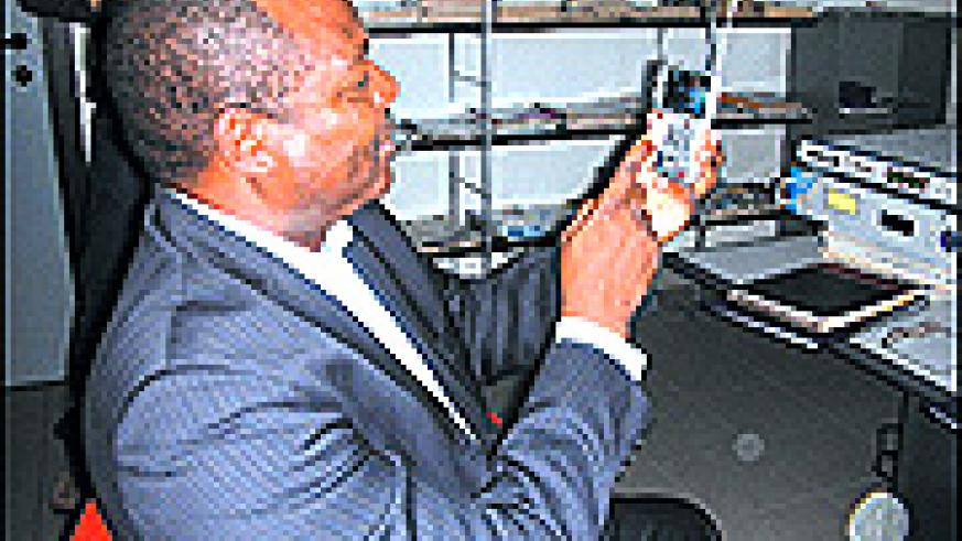 Kisaka says Rwandans will be able to watch 2010 world Cup on their  handsets.