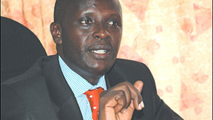 Prosecutor General, Martin Ngoga. (File photo).
