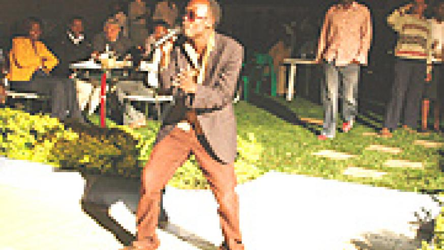 Big Furious performing during the launch of Carnival Night at Royale Villas. (Photo Mucunguzi).