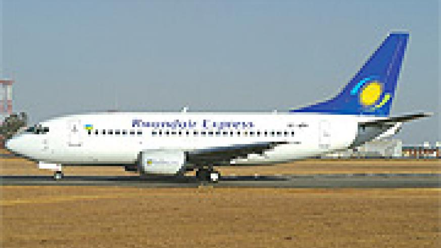 A Rwandair Express  plane. (Net photo)