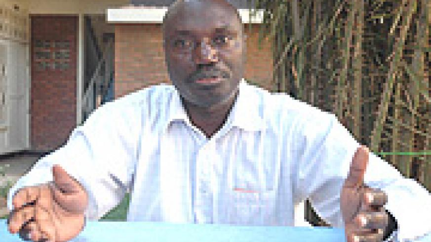 Alphonse Uworwabayeho is a lecturer at KIE - department of mathematics and is also doing a PhD in the university of Briston - UK