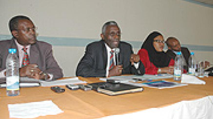 Members of the National Electoral Commission.