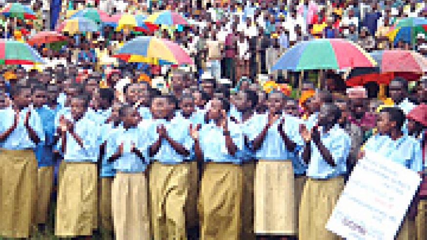 Parents have no reason to remove children from school after the introduction of Fee Free Primary Education in Rwanda.