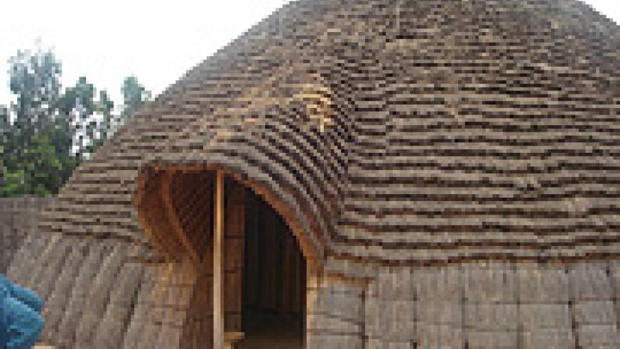 In the backyard of such a Rwandan traditional hut, parents taught children outstanding morals