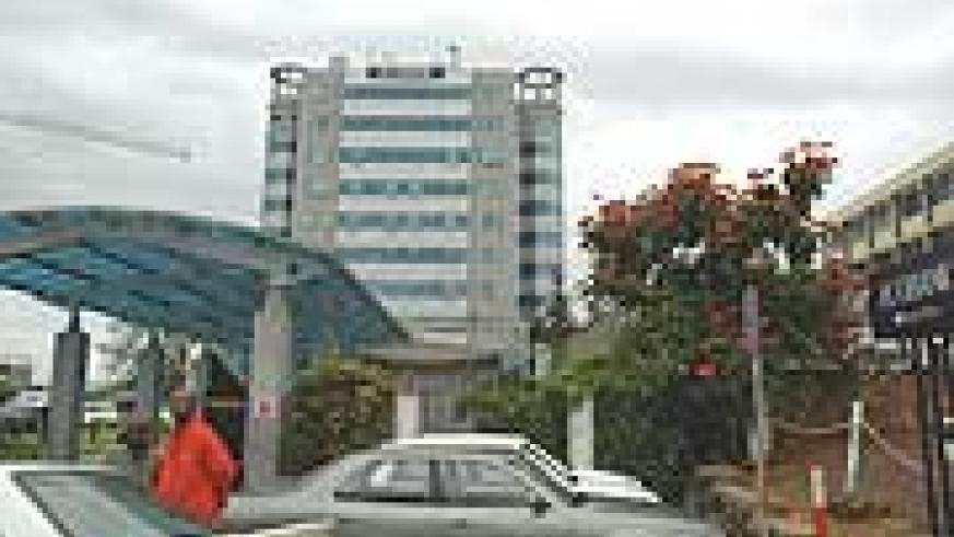 Ecobank building in Kigali. Ecobank's deposit banking accounts grew by eight per cent. (File photo)