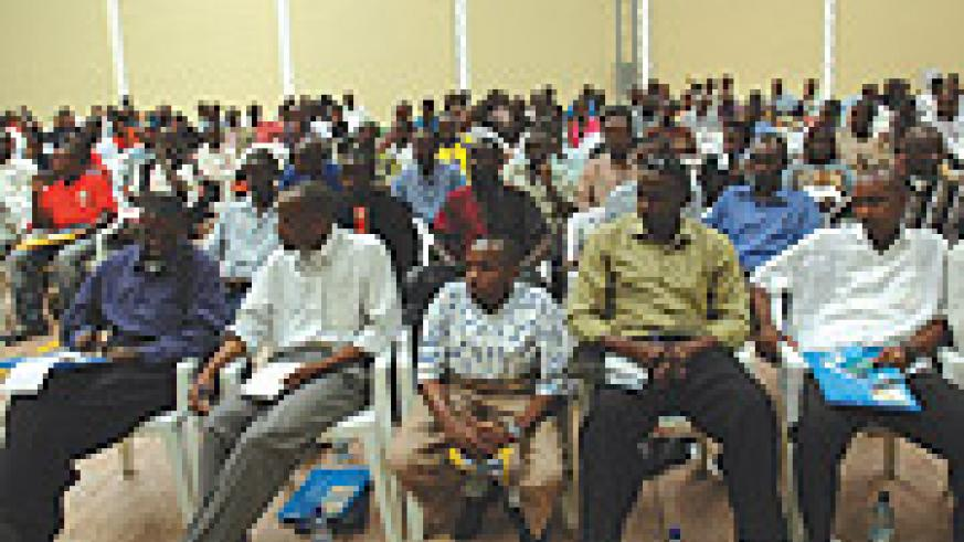 Youth attending a meeting: Majority are job seekers. (File photo).