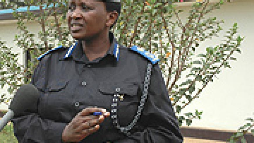 Police Chief Mary Gahonzire.