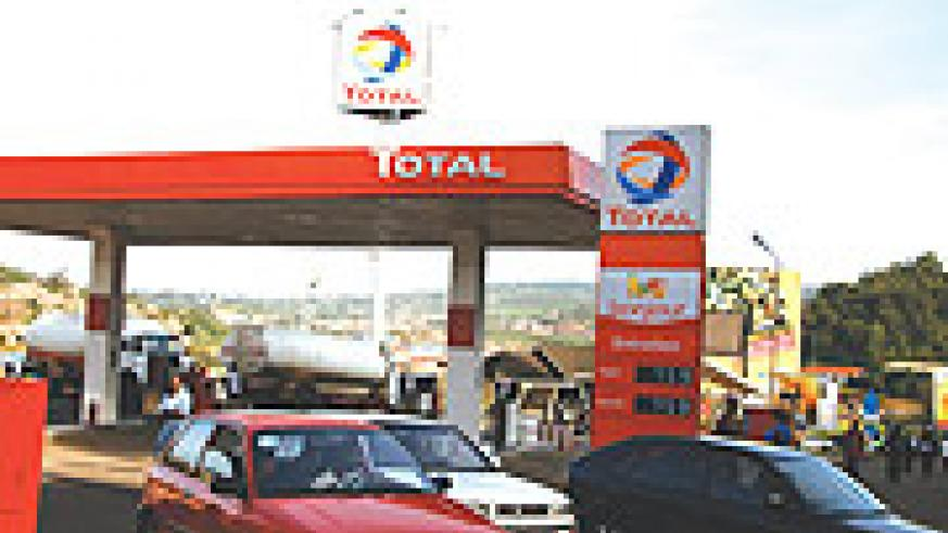 Total Rwanda Service station in Kigali City. (File photo)