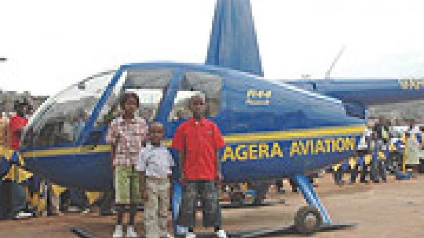 Akagera aviation was there to give a flight experience