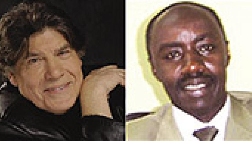 Pierre Péan wrote a book  inciting discrimination against the Tutsis(L), François Ngarambe, the former President of Ibuka, warned that racism  inspired the book of Péan is the same one that drove to genocide(R).