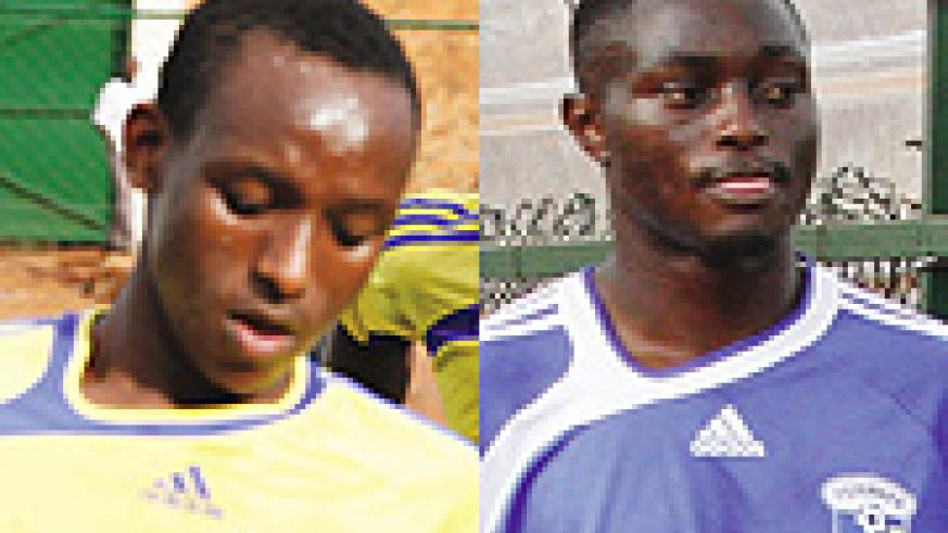 (L-R): MAKING THE NEWS:  Jean Claude Iranzi, MOVED TO APR:  Arafat Serugendo.