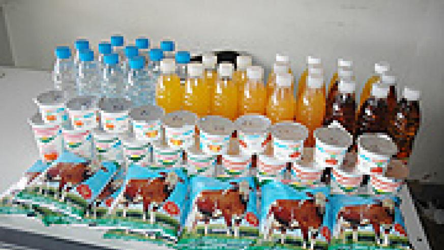 Some of the Rwandan products: Country to standardise its products.  (File photo)