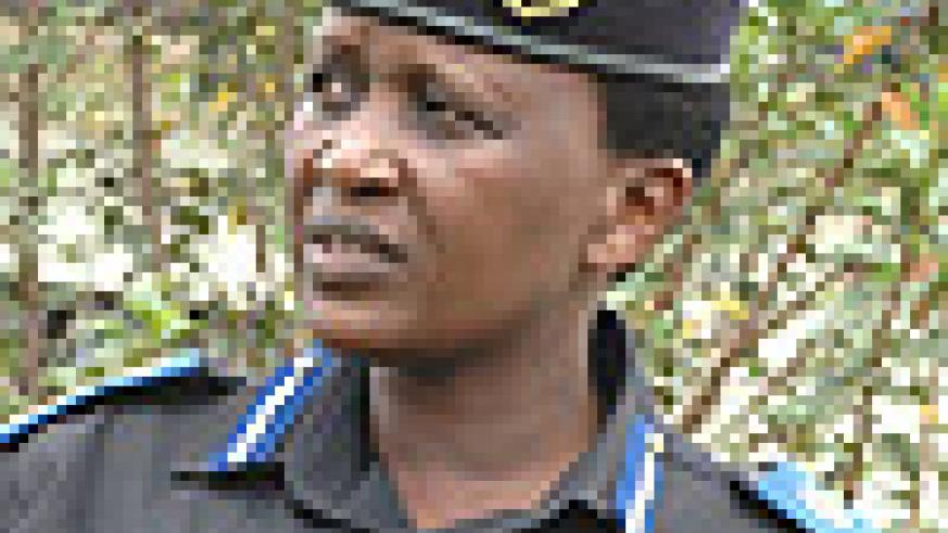 Acting Commissioner General of Police Mary Gahonzire.
