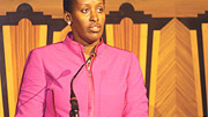 First Lady Jeannette Kagame. (Courtesy photo).