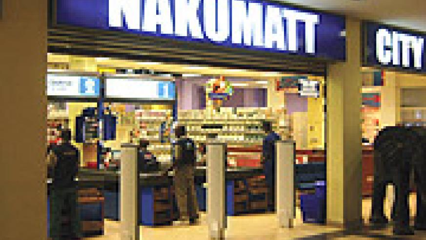 The Nakumatt outlet at Union Trade Centre in Kigali City. The store, which opened recently is exploiting the security in the city to operate 24 hours. (Photo /D. Kezio-Musoke)