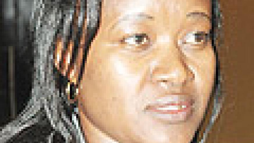 Minister for East African Affairs Monique Mukaruliza.