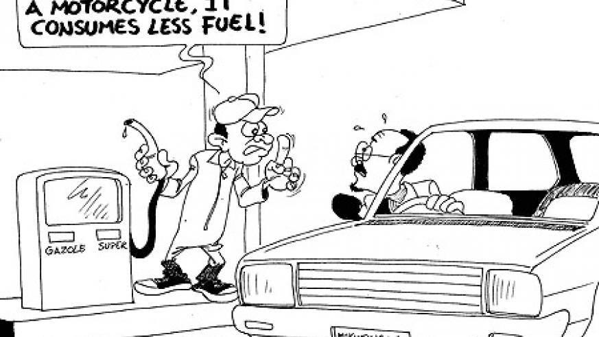The government of Rwanda has ordered fuel dealers to serve a maximum of Rwf15, 000 per vehicle, equivalent to about 20 litres of petrol per day.