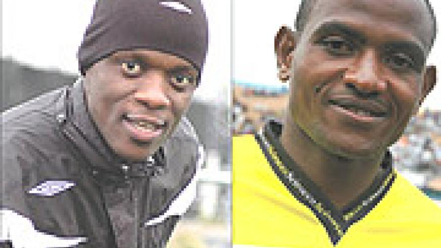 L-R: IN:Bobo Bola, RECALLED: Omar Hitimana.