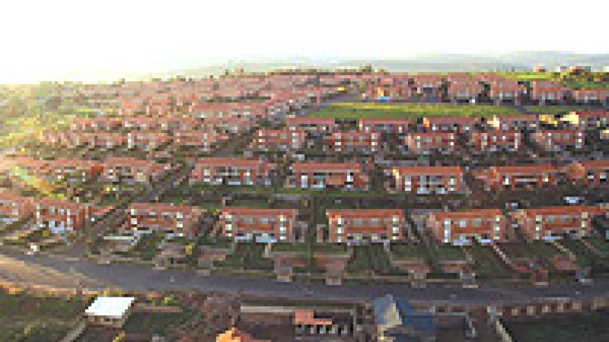 DEVELOPMENT:  Gaculiro Housing Estate: Government has invested in housing that has helped many Rwandans get accommodation. (File photo)