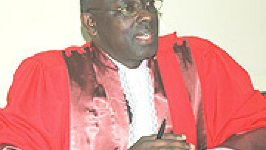 High Court president Johnston Busingye.