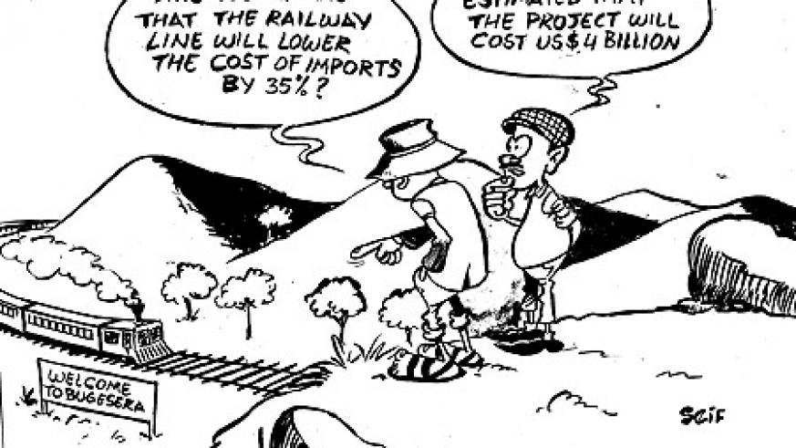 Rwanda and Burundi will start work on a 691 Km railway line meant to connect both countries to Tanzania.