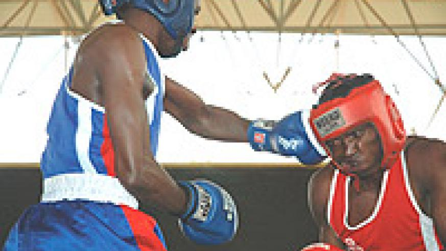 CAN THINGS CHANGE: No Rwandan boxer has ever made it to the Olympic Games.